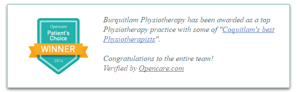 Burquitlam Physiotherapy in Barnaby and Coquitlam